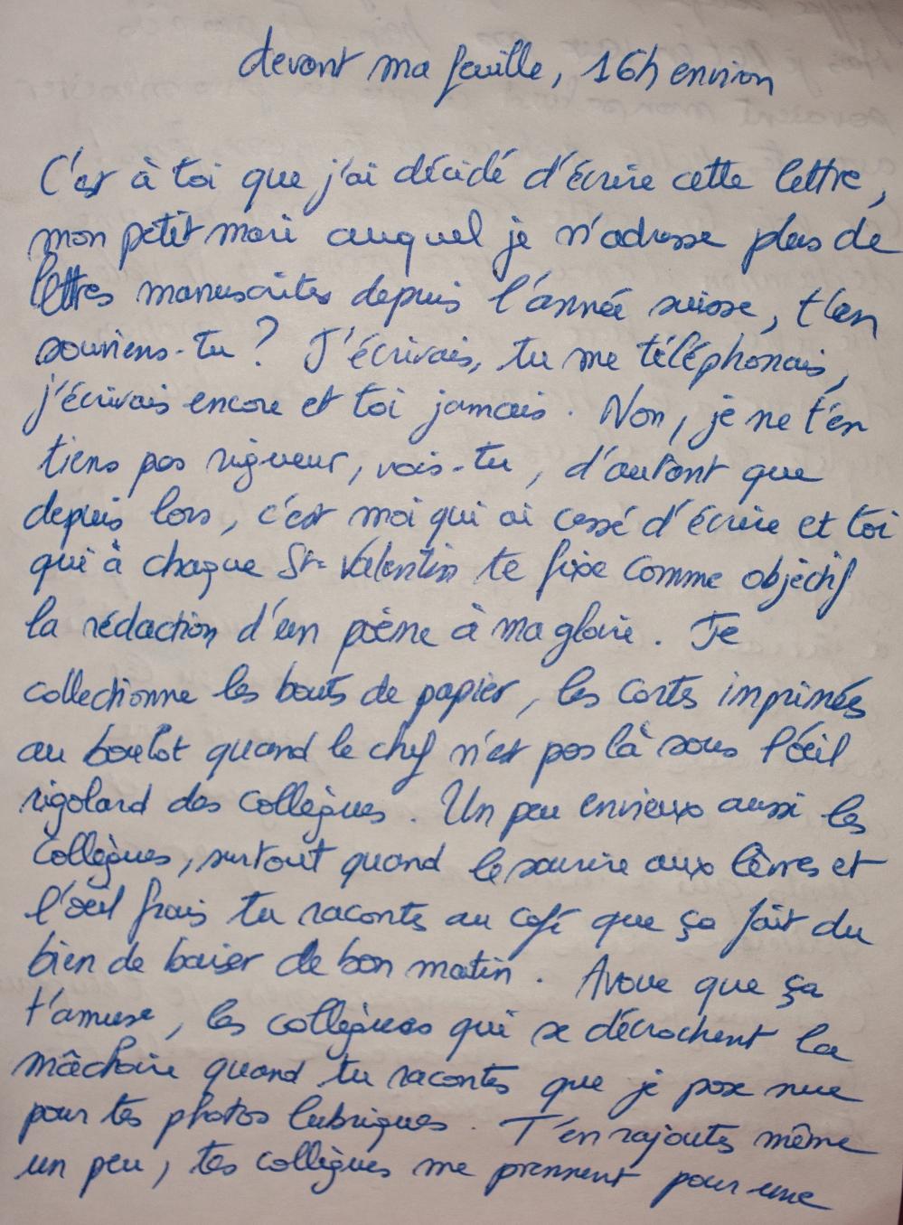 Entre Vous Lettre à Mon Mari Impermanence Le Blog D