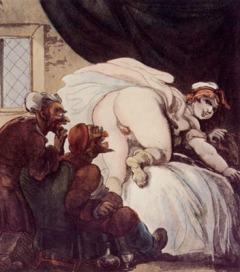 Rowlandson Thomas, Suzanne et les vieillards
