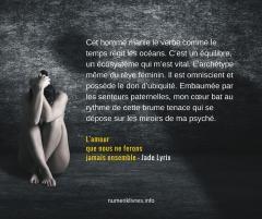 carte postale littéraire Lyrix